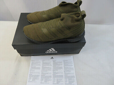 Adidas Nemeziz Mid TR Olive AC7444 Size 7.5 new In Box Indoor Soccer Mens Shoes