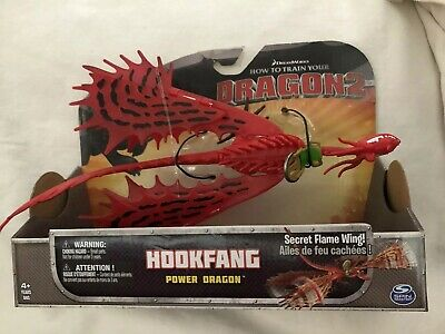 Hookfang Dreamworks How to Train your Dragon 2 Figure Power Dragon-NIB-HTTYD2