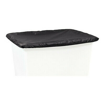 ROYAL BASKET TRUCK G20-KKX-VCN Vinyl Cover,20 Bu,Black