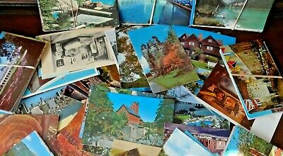 Lot Of 300 Vintage Chrome Postcards , Unposted, Unused, No Stamps