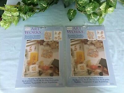 Decorative Transfers Springs ArtWorks 2 Sets of 2 Design Sheets (4 sheets total)