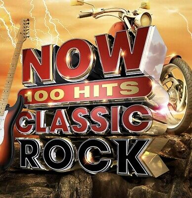 Various - Now 100 Hits Classic Rock Brand New 6Cd