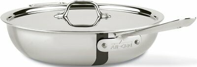 All-Clad 440465 Stainless Steel Tri-Ply 4-qt Weeknight Pan with Lid