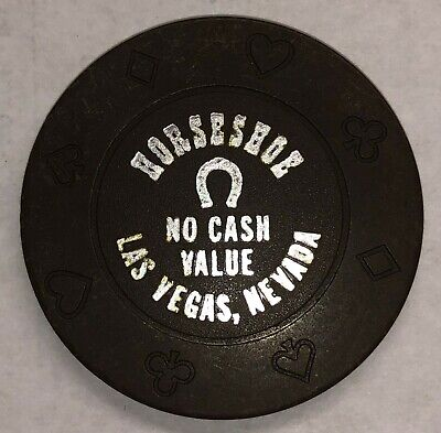 Horseshoe Casino Brown No Cash Value Chip