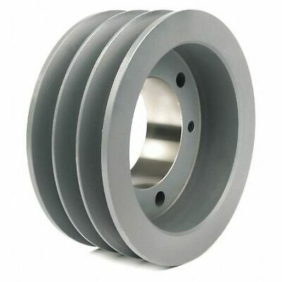 "TB WOOD'S 5V633 1/2"" to 2-1/2"" Bushed Bore 3-Groove Standard V-Belt Pulley"