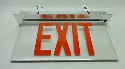 NEW Atlite Cooper Lighting TSC16RCSA  Red Clear Exit Sign