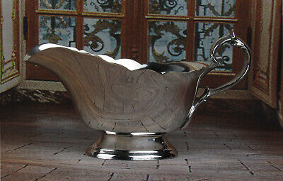 EPNS Lawrence B. Smith & Co. Silverplate Gravy Sauce Boat 3096 Superfine