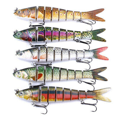 Fishing Lures Sinking Wobblers Multi Jointed Swimbait Pike Lure Hard Baits EN