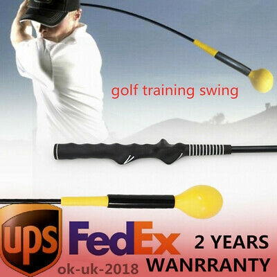 NEW Yellow Whip Golf Strength & Tempo Swing Trainer Training Aid - 115cm