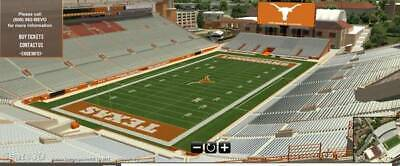 Texas Longhorns vs LSU Tigers Football Tickets 9/7/19!  GREAT SEATS!  UP TO 12!