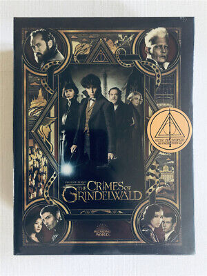 Fantastic Beasts the Crimes of Grindelwald One-Click Blu-ray Steelbook BLUFANS