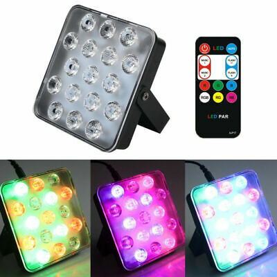 17 LED RGB Lighting Laser Projector Stage Lights Party DJ Disco KTV Festival