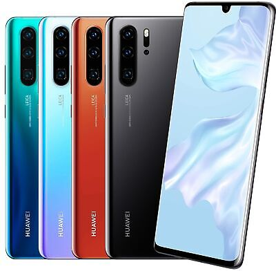 "Huawei P30 Pro DualSim 128GB LTE Android Smartphone 6,47"" OLED Display 40 MPX"