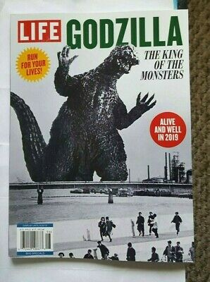 Life Magazine Godzilla The King Of The Monsters Alive And Well In 2019