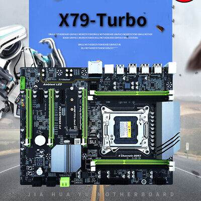 For Intel X79 Mainboard Motherboard LGA2011 Socket R USB 3.0 ATX DDR3 ECC REG