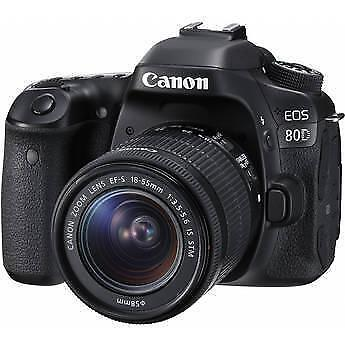 Canon EOS 80D dSLR Digital Camera + 18-55mm f/3.5-5.6 IS STM Lens (1Yr Warranty)