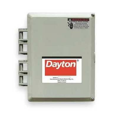 DAYTON 2PZF8 Motor/Pump Control Box,1 Ph,240V,32 Amps