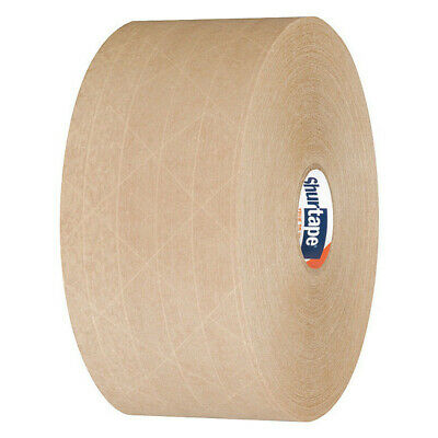 SHURTAPE WP 100 Water-Activated Packaging Tape,Roll,PK10