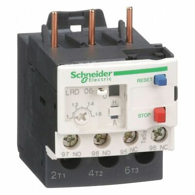 SCHNEIDER ELECTRIC LRD06 Ovrload Rely,1 to 1.60A,3P,Class 10,690V