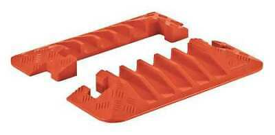 CHECKERS CPEC5X125-O Cable Protector,Hinged,5 Channels,PR