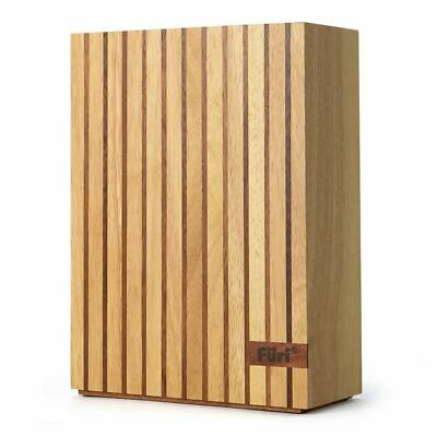 Furi - 5 Slot Wood Knife Block - Empty