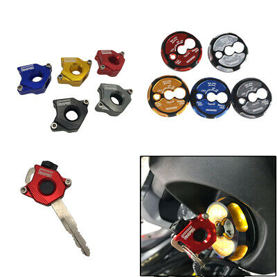 Fuel Oil Lock Cover Case Key Cover Shell For YAMAHA NMAX 125 150 155 2015-2019
