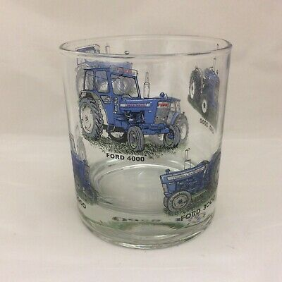 Ford Tractor  Designs  On  Extra Large  Heavey Base Whisky/ Spirit Tumbler
