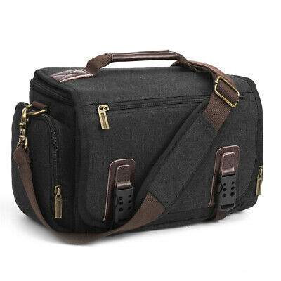 Amzbag Camera Bag Messenger Shoulder Case Covers for Canon Nikon DSLR Mirrorless