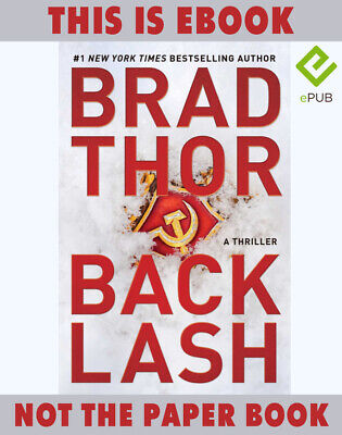 Backlash by Brad Thor. A Thriller 🔥 📧(email delivery) 🔥