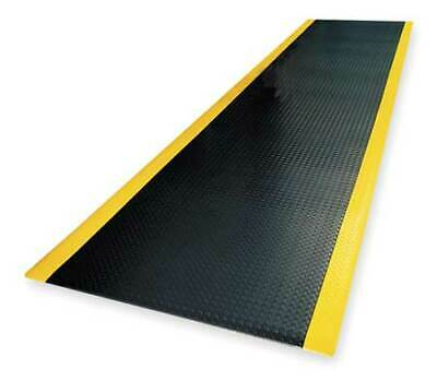 NOTRAX 419C0036BY Antifatigue Runner,Black,3ft. x 22ft.