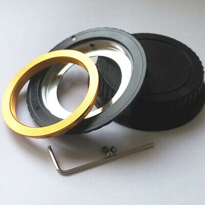 Programmable AF Confirm Adapter Ring For M42 Lens To Canon EOS EF Camera DC743