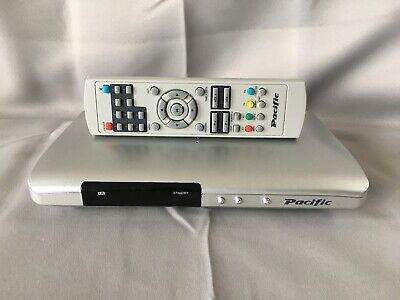 Pacific Freeview Digital TV Set Box PSTB2 + Remote Control - Small & Slimline