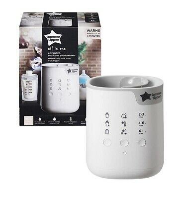 BNIB Tommee Tippee 3in1 Baby Advanced Bottle And Pouch Food Warmer Quick & Easy