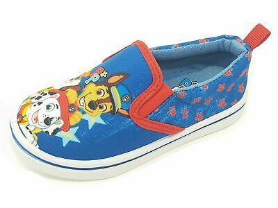 Kids Children's Boys Girls Flat Canvas Pumps Paw Patrol Shoes Size 5-10