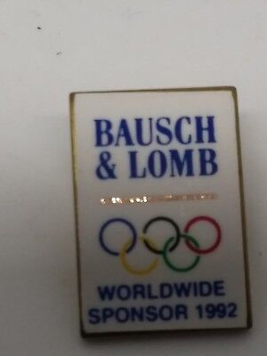 PIN'S BAUSCH & LOMB Worldwide Sponsor 1992