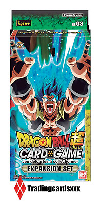 ♦Dragon Ball Super Card Game♦ Expansion Set 3 boosters Destroyer Kings - VF/GE03