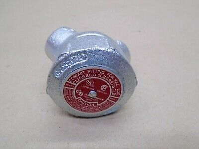 "NEW O-Z/Gedney LBY-75 3/4"" Capped Elbows Hazardous Location NEMA 7 NEMA 9"
