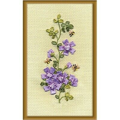Bees Ribbon Embroidery Kit C-0913 By Panna
