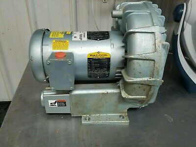 Baldor 3 Phase Blower Motor - New Condition