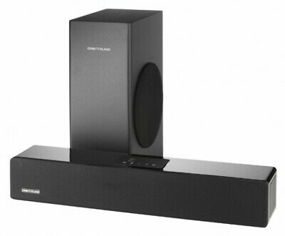 Orbitsound M10LX Sound Bar With Wired Bluetooth Subwoofer Sub Speaker Black