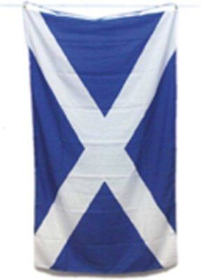 St Andrews Cross FLAG 5x3 Navy Blue Saltire Scotland Scottish Flag Free Delivery