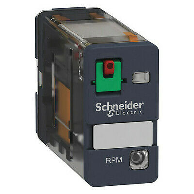 SCHNEIDER ELECTRIC RXM4AB2F7 Plug In Relay,14 Pins,Square,120VAC