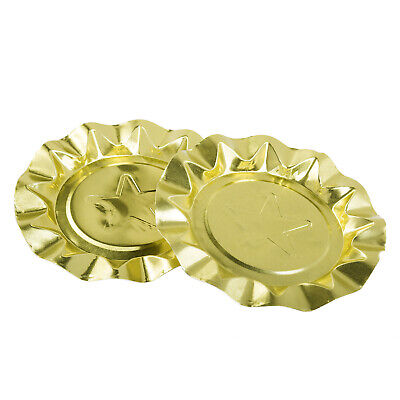 Royal Gold Star Disposable Aluminum Ashtrays, Pack of 1,000, LA200P