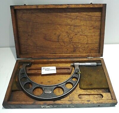 Moore & Wright 150 - 175mm External Micrometer, No.971M.