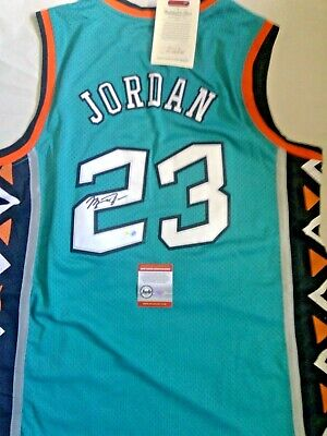 Michael Jordan signed All Star Jersey - Mitchell and Ness