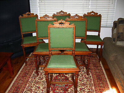 Antique Belgian Renaissance Style Chairs from France