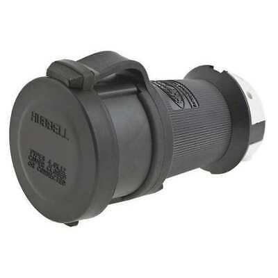 HUBBELL WIRING DEVICE-KELLEMS HBL2613SW 30A Watertight Twist-Lock Connector 2P
