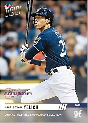 2019 TOPPS NOW National League ALL-STAR #1 CHRISTIAN YELICH Brewers PRE-SALE MVP