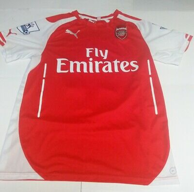 competitive price 6a5ee b0742 ALEXIS SANCHEZ ARSENAL Puma Soccer Football Jersey Size Small Dry Cell Free  Ship