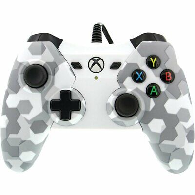 PowerA Wired Stealth White Camo Xbox One PC Windows 10 Controller